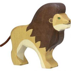Holztiger leeuw hout