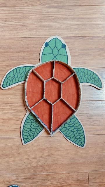 Sensory puzzel schildpad
