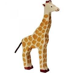 Holztiger giraf hout