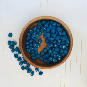 Blauwe Kikkererwten-Sensory Play