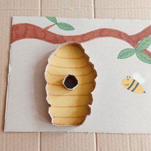 Sensory Puzzel Bijenkorf