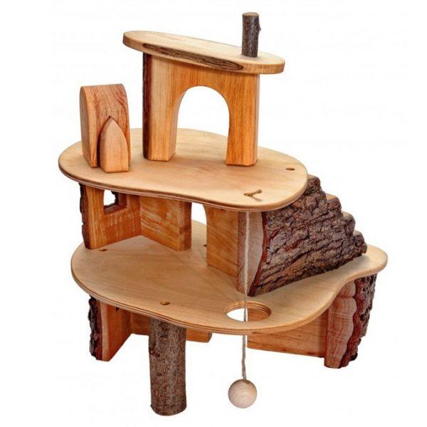 Magic Wood Boomhuis met schors