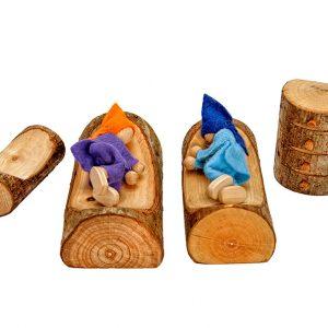 Magic Wood Poppenhuis Slaapkamer