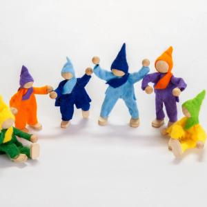 Magic Wood Viltpoppen Familie