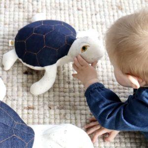 Baby zeeschildpadje