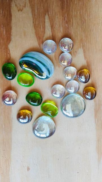 Schatkistje met magische stenen