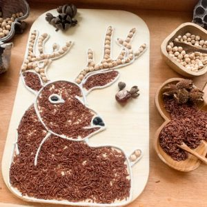 Woodland Puzzel Hert